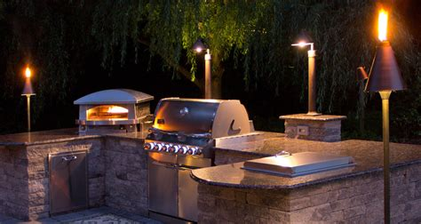 Outdoor Bbq Lighting 25 Outdoor Kitchen Design And Ideas For Your Stunning Kitchen