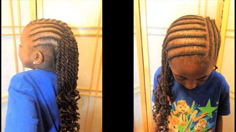 kids salon corn row natural black hair learn how to manage and maintain