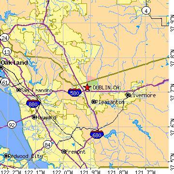 dublin california map map dublin area codes