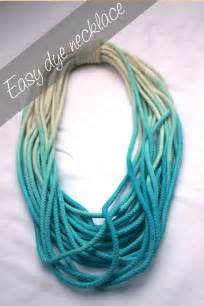Bromeliad my diy dip dye necklace fashion and home decor diy and