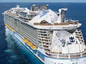 royal caribbean royal caribbean uk celebrates april fools day with world s first ski resort at sea royal