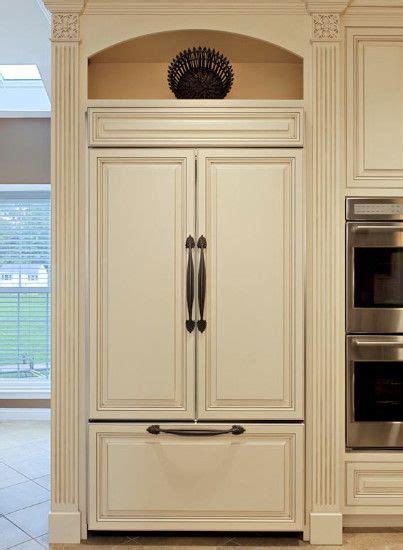refrigerator that looks like a cabinet fridge that looks like cabinets traditional