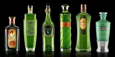 What Is Beautiful About Cannabis And Absinthe by Absinthe Study The Dieline Packaging Branding