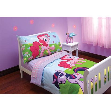 My Little Pony Friends Toddler Bedding 4 Piece Set 37 00 And Friends Bed Set