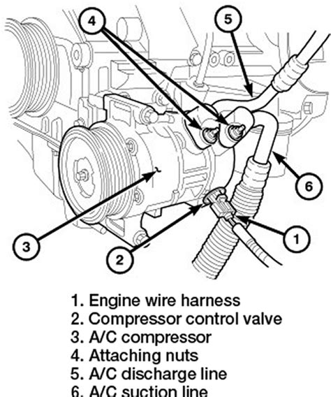 Jeep Compass Air Conditioning Problems Repair Guides Compressor Removal Installation