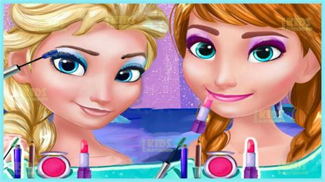 design games elsa frozen games princess elsa and anna makeup design