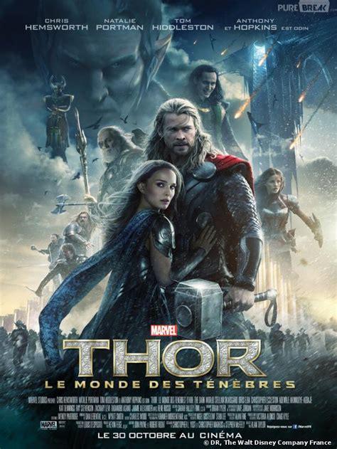 film avec thor thor 2 nouveau poster 233 pique pour chris hemsworth