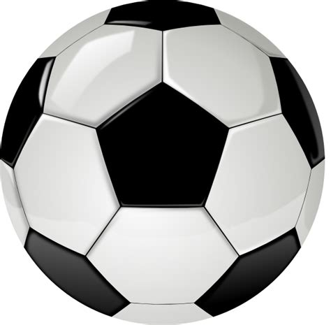 Gambar 3d Football real football no shadow clip at clker vector clip royalty free