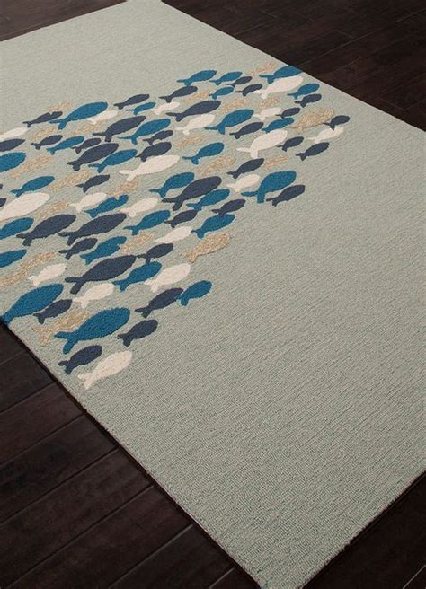 Light Blue Go Fish Area Rug Sun Room Pink Fish And Fish Area Rug