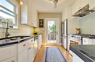 Galley Kitchen Remodeling Ideas by Designing A Galley Kitchen Can Be