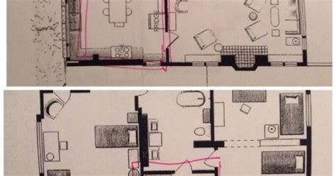 """Floor Plan for the house from """"The Fosters""""   always loved"""