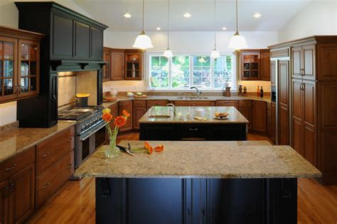kitchen with two islands westborough design center local leaders