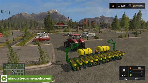 Mod Planter by Fs17 Deere 1760 12 Row Planter V 1 0 0 Simulator