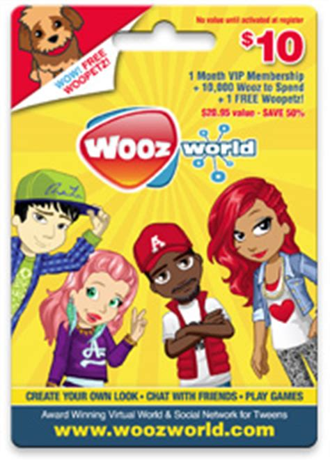 Woozworld Gift Cards - woozworld gift cards