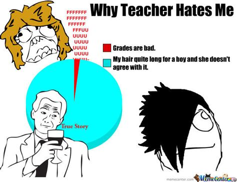 Why Do You Hate Me Meme - why teacher hates me by recyclebin meme center