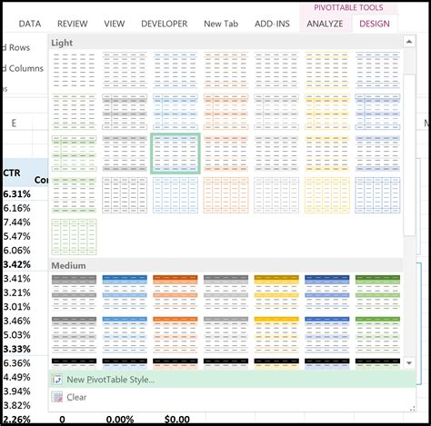 excel layout tips 6 helpful excel ppc pivottable tips tricks point it