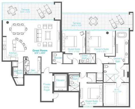 the vue floor plans the vue floor plans 3 bedrooms 3 5 baths den home