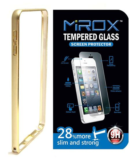 mirox golden bumper cover for samsung galaxy j2 with