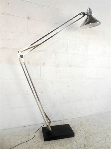 Adjustable Floor L Mid Century Modern Chrome Adjustable Floor L For Sale At 1stdibs
