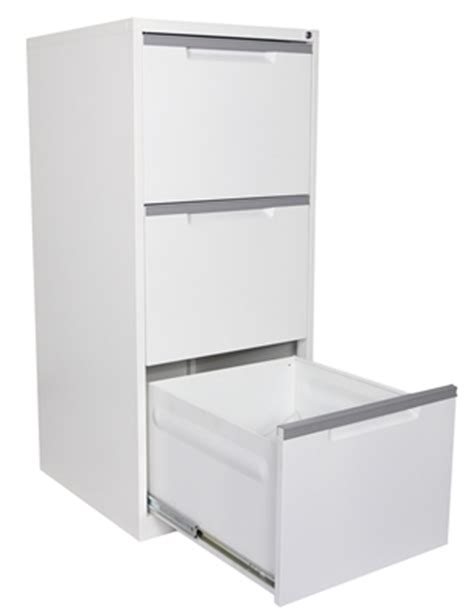 A3 Filing Cabinet Steelco A3 Filing Cabinet 3 Drawer White Satin Premier Office Furniture