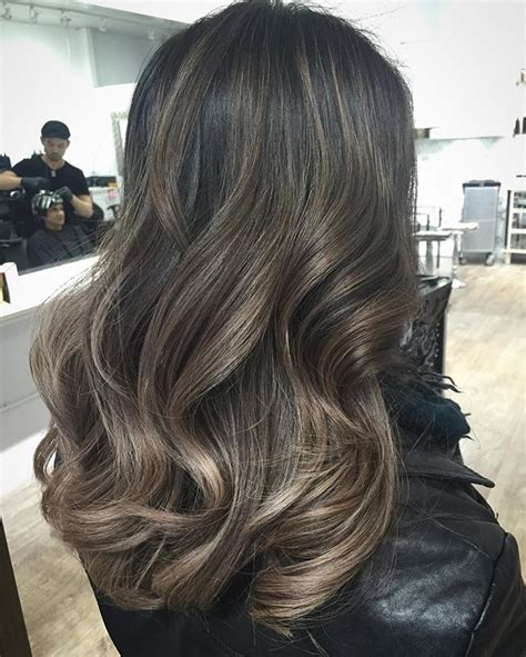 how to do ash ombre highlight on short hair 25 best ideas about ash balayage on pinterest ash ombre