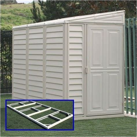 Sidemate Shed by Vinyl Lean To Storage Sheds