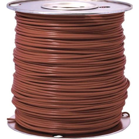 and brown wires southwire 1000 ft 18 brown stranded cu gpt primary auto