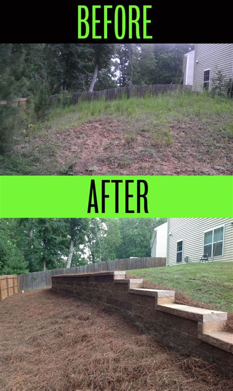 sloped backyard before and after sloped backyard before and after 28 images hillside
