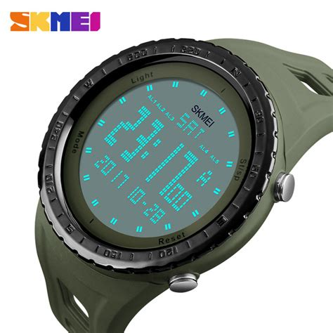 Skmei Jam Tangan Sport Digital Dg1025 Army Green T3010 3 skmei jam tangan digital pria dg1246 army green jakartanotebook