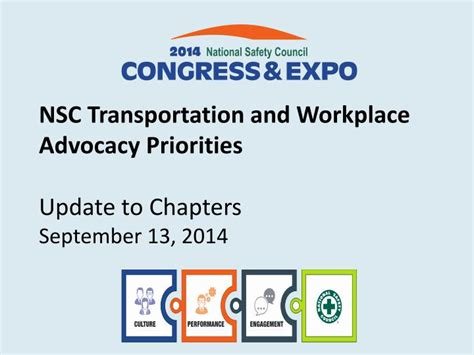 september 13 update ppt nsc transportation and workplace advocacy priorities