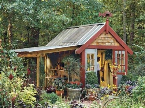 Tin Roofs For Sheds by Tin Roof Garden Shed Garden Stuff