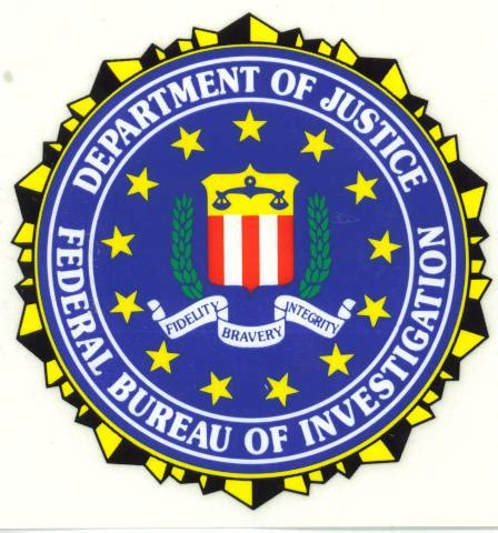 federal bureau of justice department of justice federal bureau of investigation