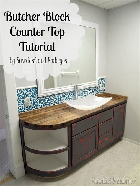 butcher block countertops bathroom how to build a butcher block counter butcher blocks