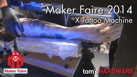 3d tattoo machine youtube maker faire roma 2014 x tattoo machine stante 3d per