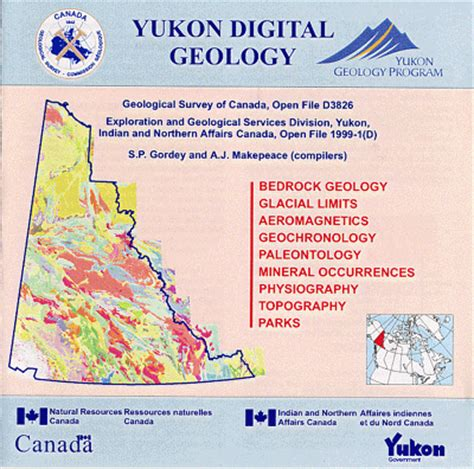 geology of canada by province or territory