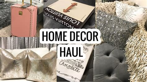 tj maxx home decor home decor haul 2017 homegoods marshalls t j maxx haul