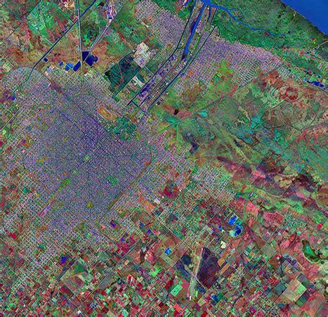 imagenes satelitales buenos aires foto e imagen satelite de la ciudad de la plata prov