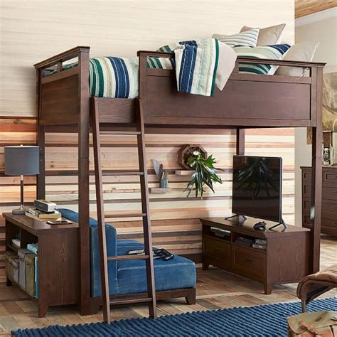 pb teen loft bed hton convertible loft bed pbteen