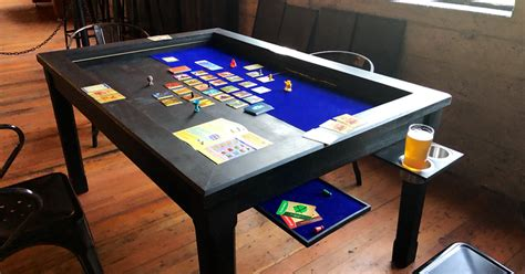 board table kickstarter 2nd breakfast an affordable quality board table by