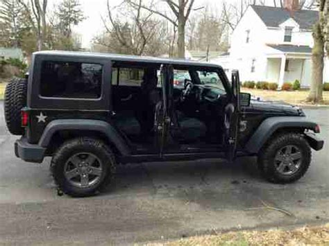 Jeep Rubicon Call Of Duty Black Ops Purchase Used 2011 Jeep Wrangler 4x4 Call Of Duty Black