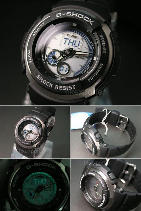 Casio G 301br 1a casio g shock digital analog world time g 301br 1a