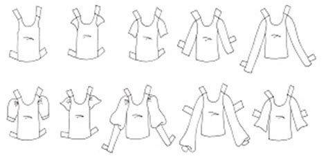 Paper Doll School Creating Versatile Clothing Templates Fashion Paper Doll Template