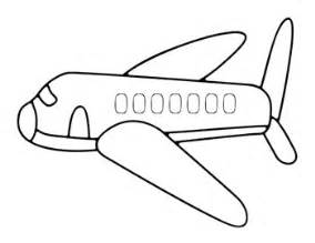 airplane template preschool printable airplane coloring pages for printable