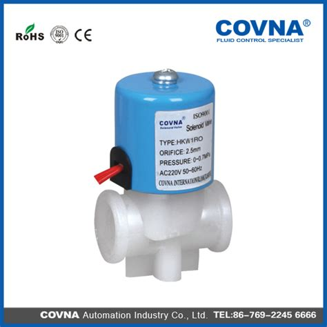 Solenoid Osmosis 24v 1 osmosis ro system water purifier dc 24v blue