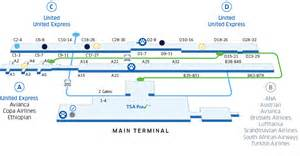 united airlines bag information washington dulles int l iad airport map united airlines