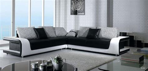 decorate furniture elegant quality leather l shape sectional with pillows