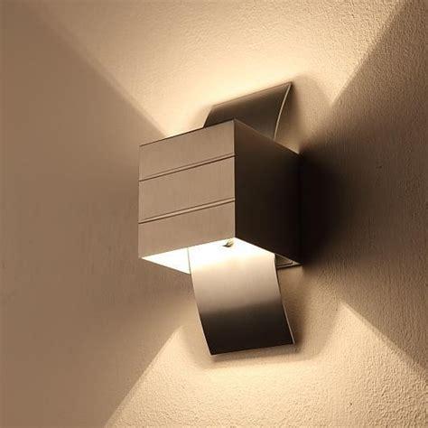 kleine wandleuchte kleine wandleuchte gro 223 e licht wirkung in aluminium