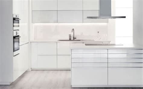 Ikea Kitchen Cabinets Ringhult Ikea Ringhult Kitchen In Gloss White Kitchen