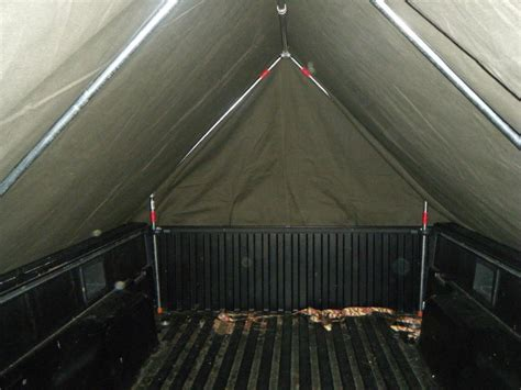 diy truck bed tent diy military style truck bed tent under 300 tacoma world