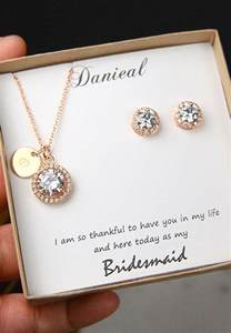 wedding gift jewelry 25 best ideas about bridesmaid gift boxes on brides gifts wedding bridesmaids